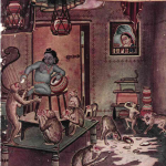 Cover Page of Telugu Magazine Chanadama - June, 1949 Edition